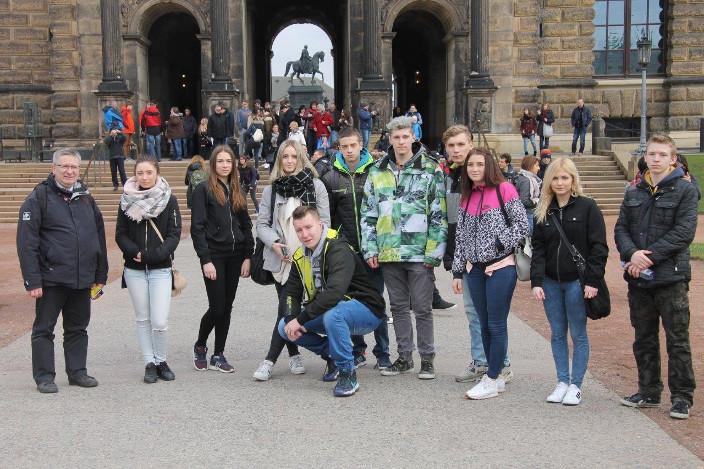 Przeglądasz zdjęcia z artykułu: Praktyka zawodowa w Niemczech uczniów klas Technikum Informatycznego - galeria 1