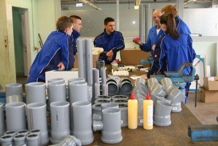 Przeglądasz zdjęcia z artykułu: Praktyka zawodowa w Firmie THOR - galeria 1
